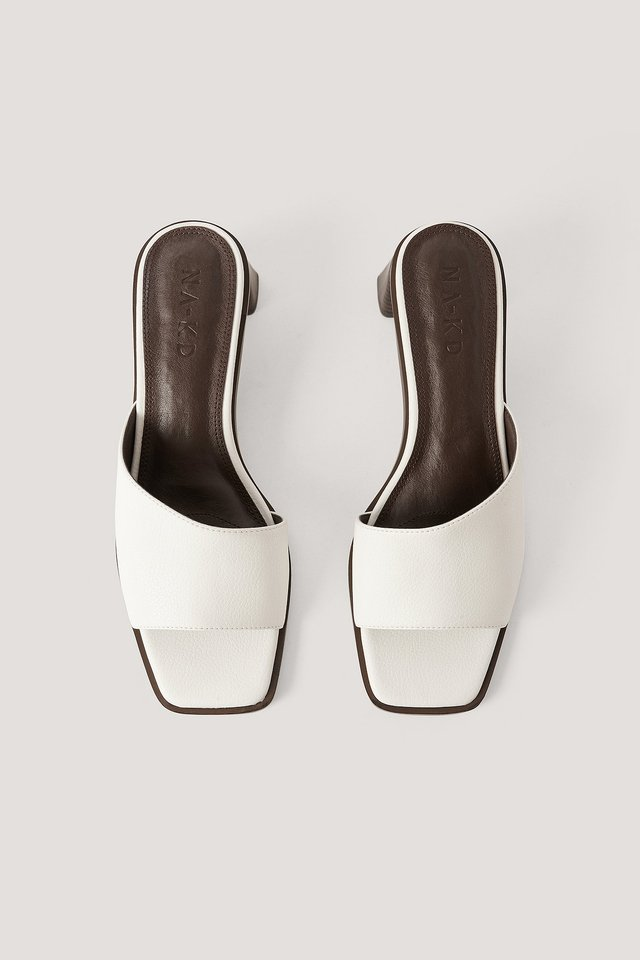 Mules Offwhite