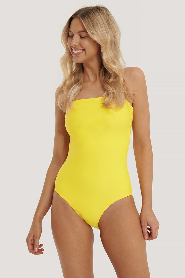 Barbados Swimsuit Yellow