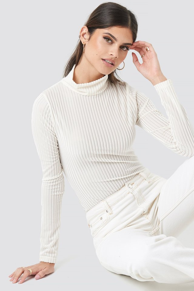 Eva Bodysuit White