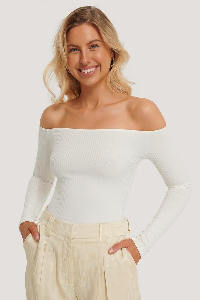 Gerda Bodysuit White