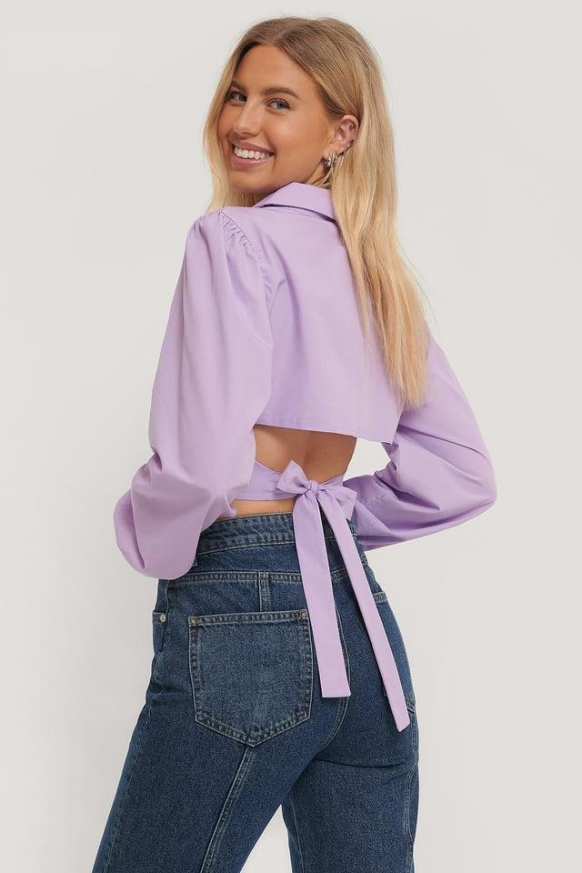 Paita Avoimella Selällä Lilac