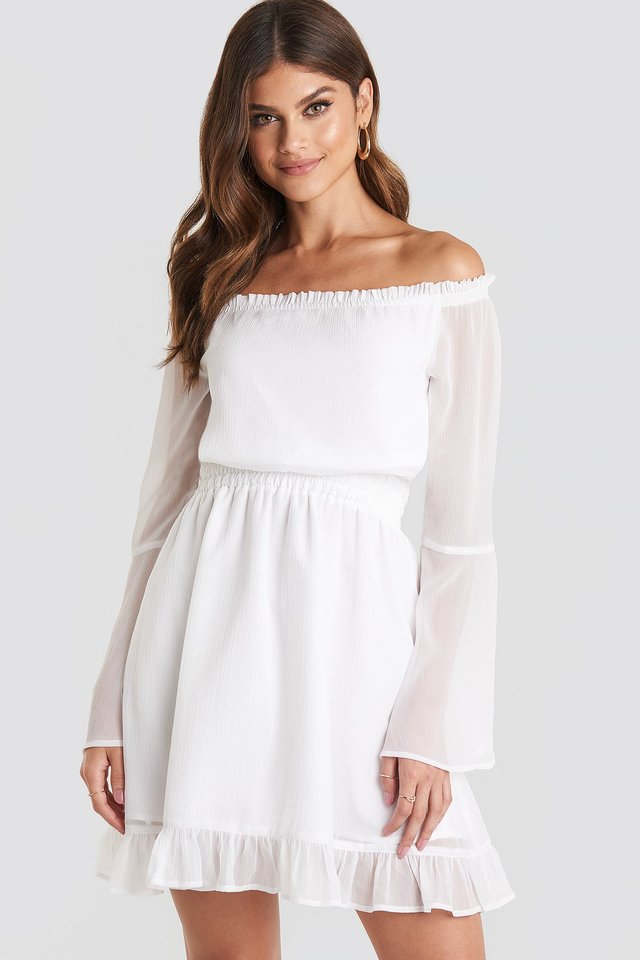 Off Shoulder Mini Dress Paulinye x NA-KD