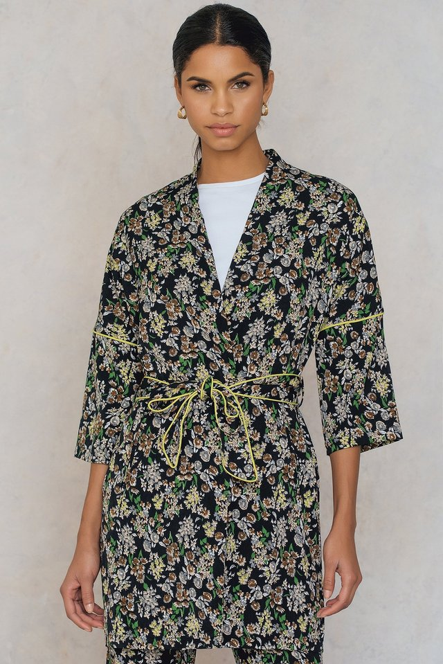 Piping Kimono Flower