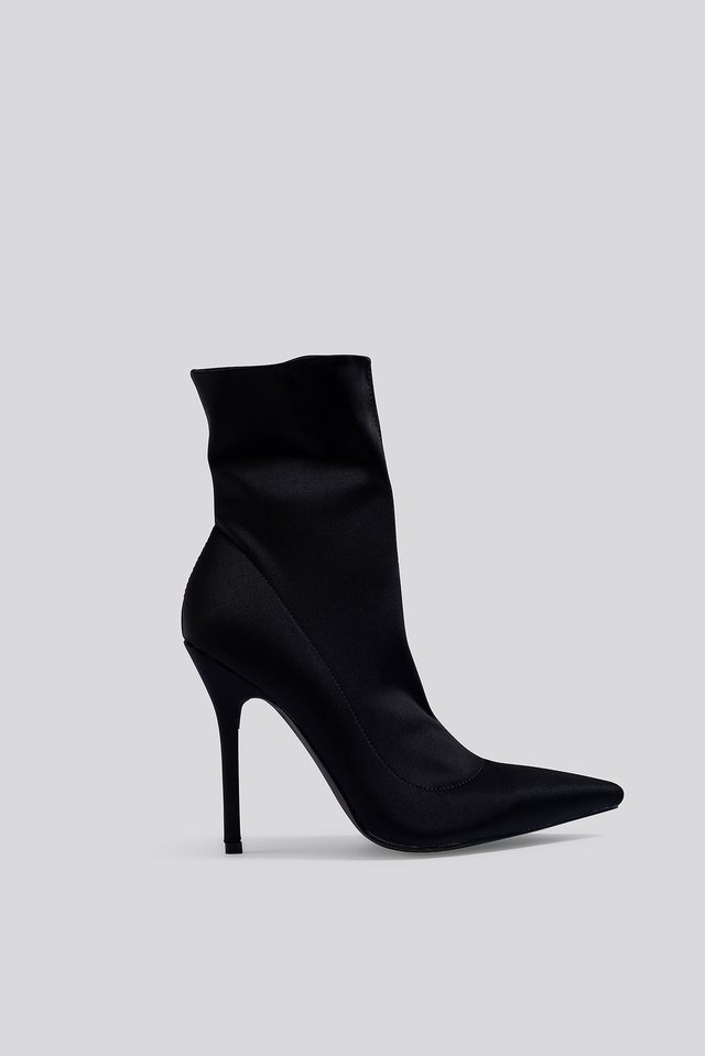 Presca Ankle Boots Black