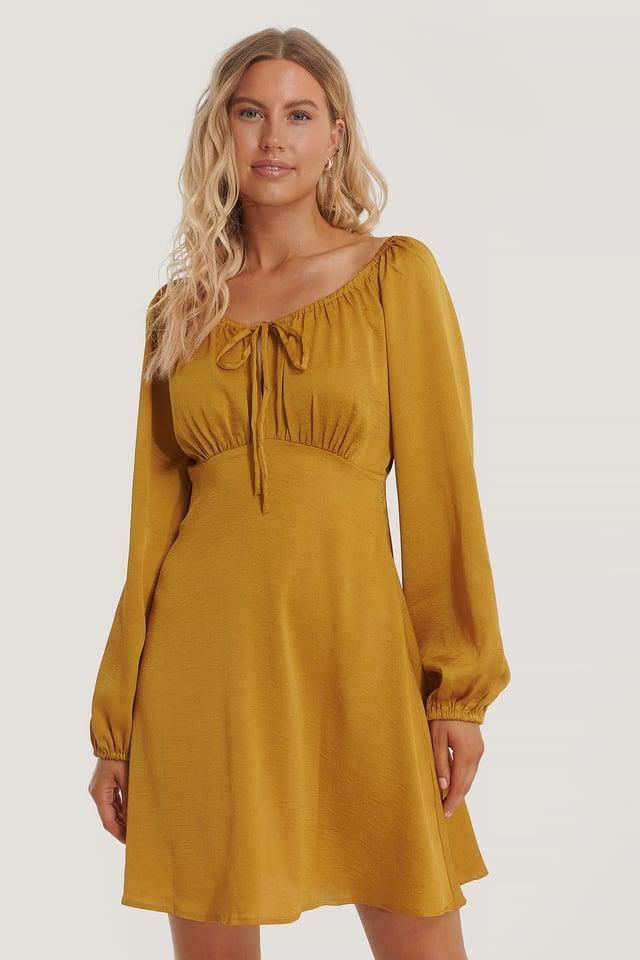 Belle Dress Yellow