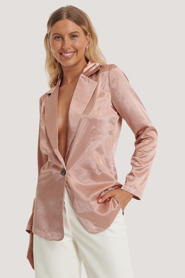 Nicole Blazer Dusty Pink