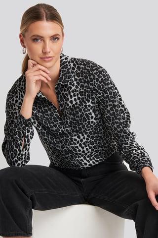 Grey Leo Mandy Shirt