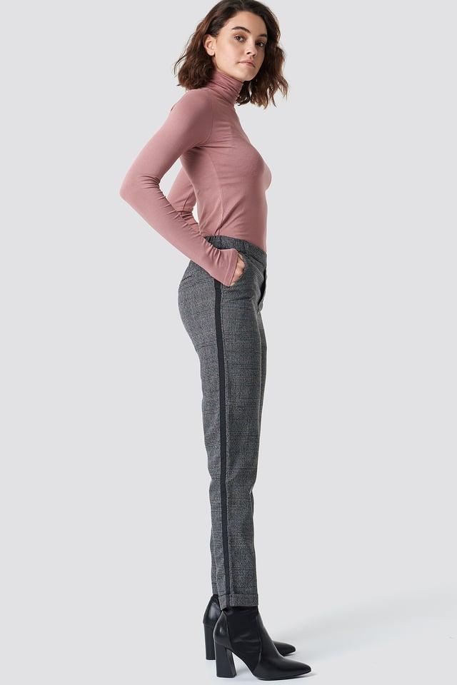 Dark Check Pant Check