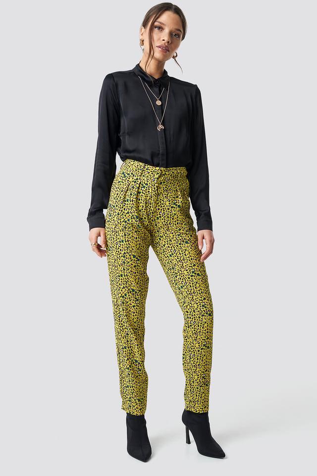 Elsa Print Pant Leopard