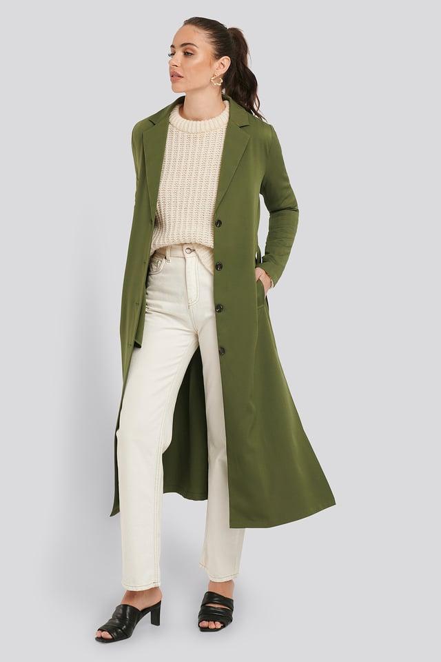 Luna Coat Khaki