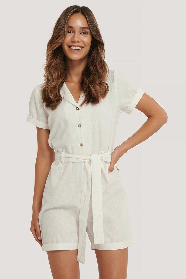 Playsuit Offwhite