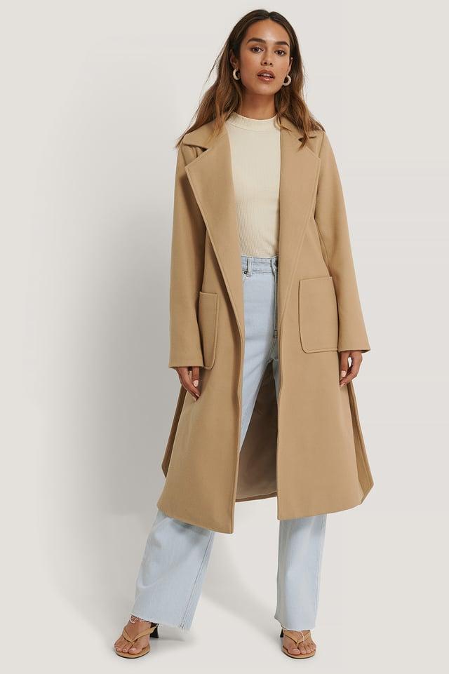 Tilda Coat Camel