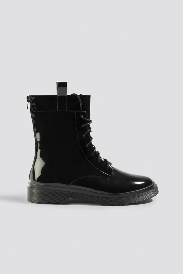 Chunky Boots Black