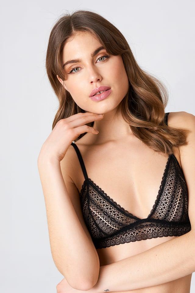 Augusta Bra Black