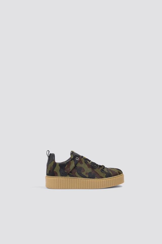 Val Aop Sneaker Camouflage