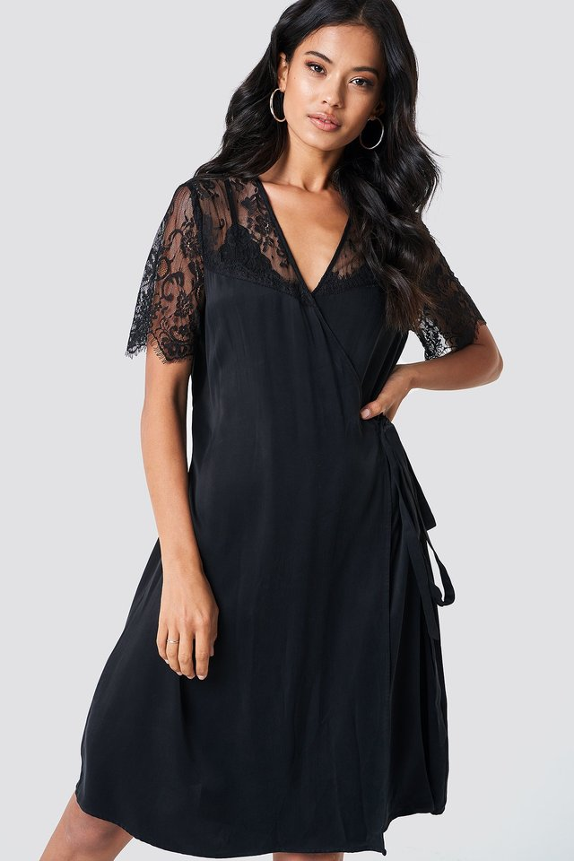 Simona Dress Black