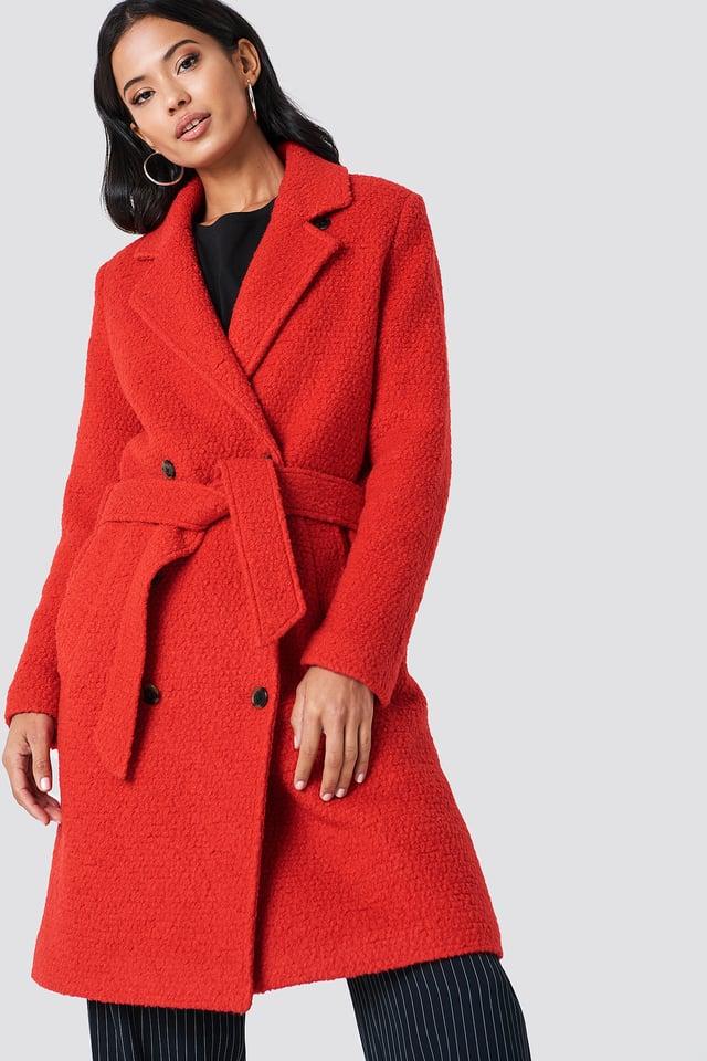 Ulrike Jacket Flame Scarlet