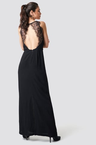 Black Willow Dress Long