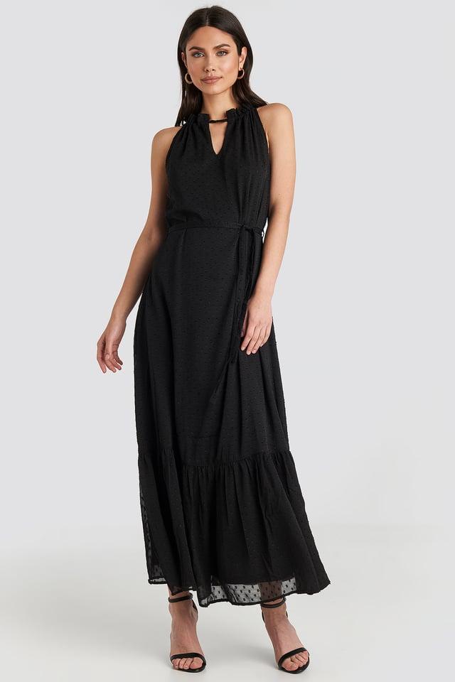 Itak Dress Black