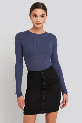 Black Freya Skirt