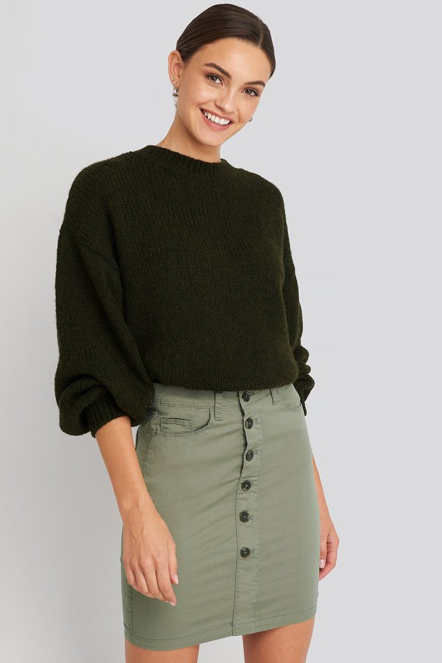 Khaki Freya Skirt