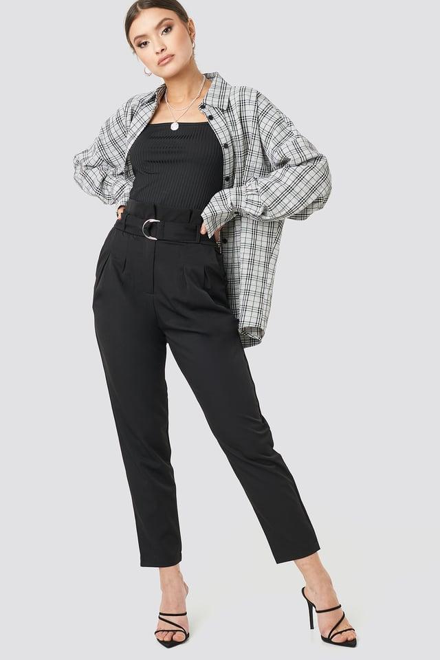 Black Nanna Pants