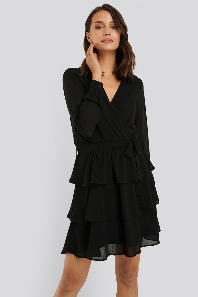 Nappa Dress Black