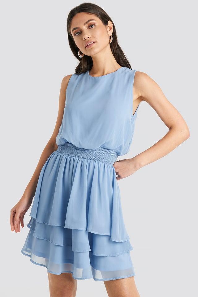 Nicoline Dress Light Blue