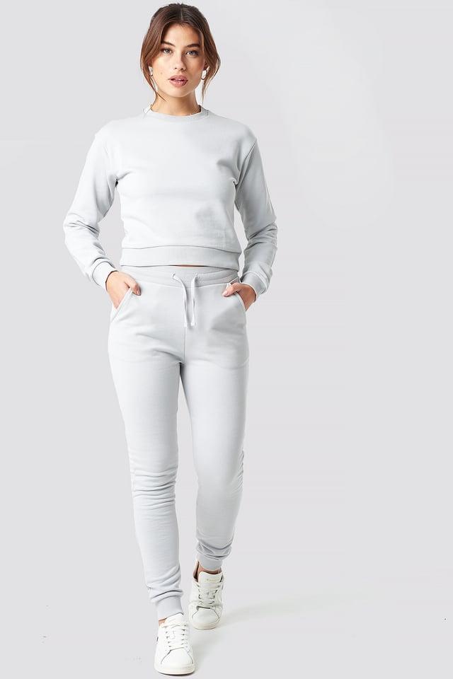 Slim Soft Sweatpants Grey
