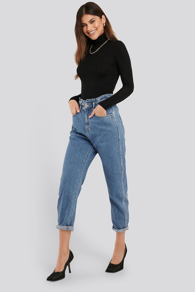 Slouchy Jeans Denim
