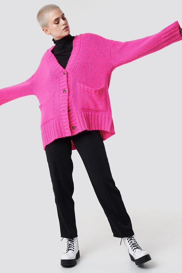 Oversize Pink Sweatshert.