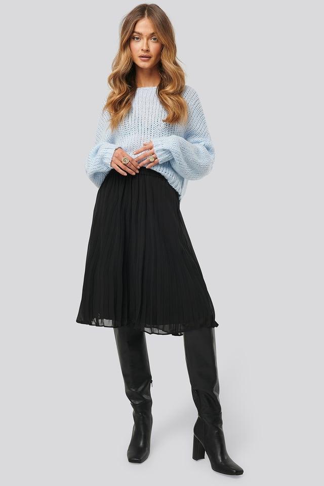 Billie Skirt Black