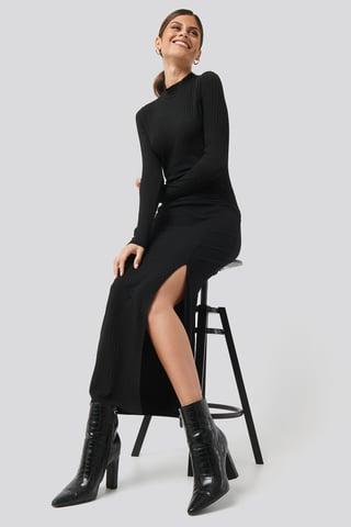 Black Caitlin Long Dress