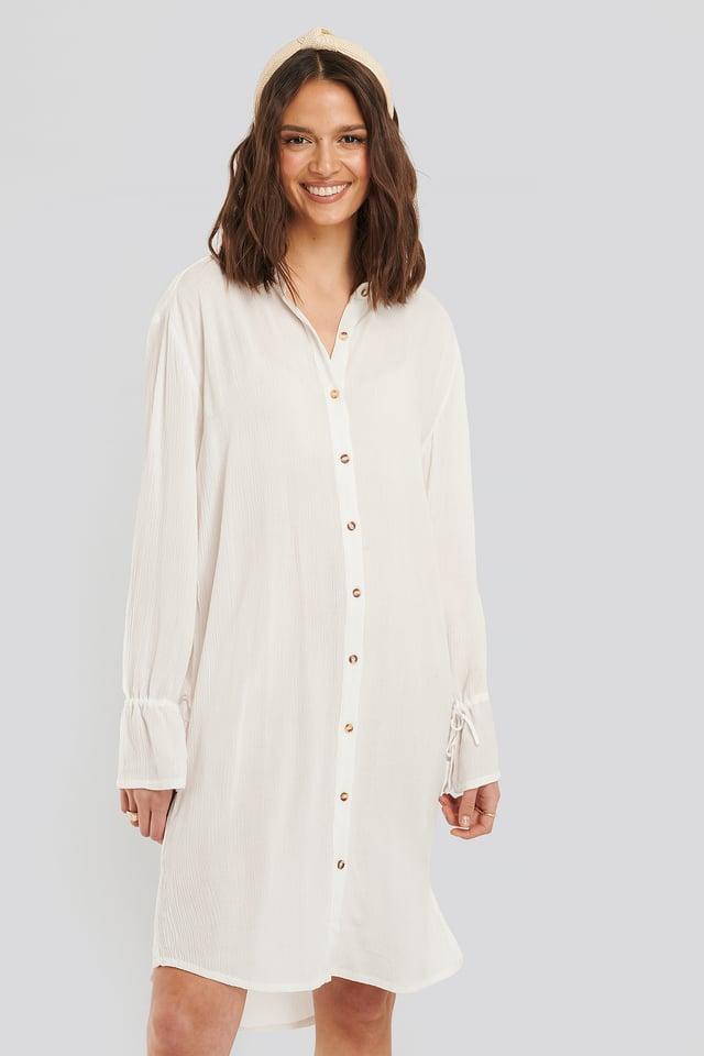 Off White Harriet Shirt Dress