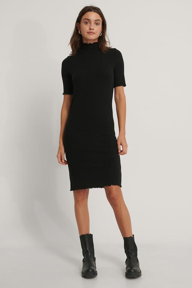 Kaia Jersey Dress Black