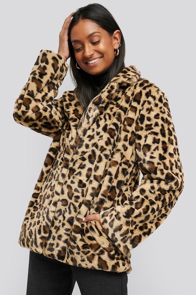 Ragnhild Coat Leopard