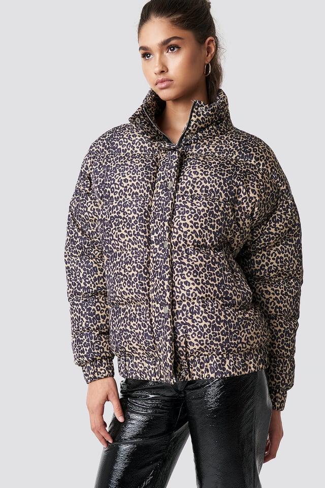 Raja Jacket Leopard