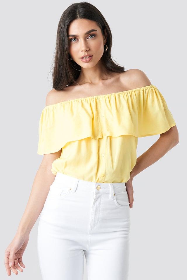 Tara Top Pastel Yellow