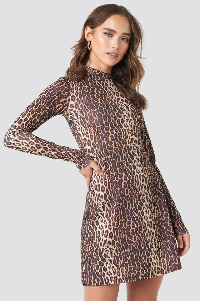 Sara Sieppi Mini Dress Leopard