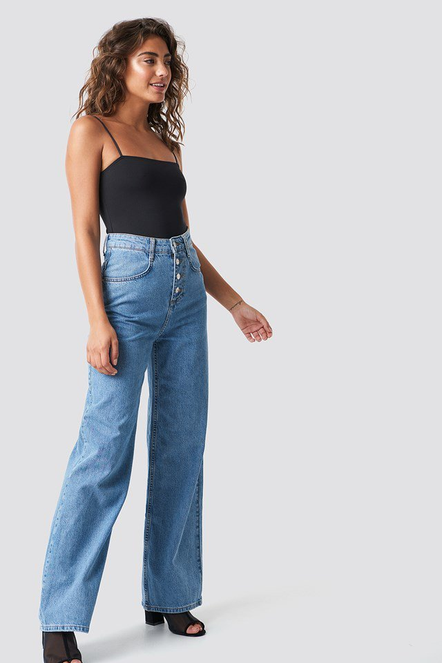 Casual Denim Jeans Outfit