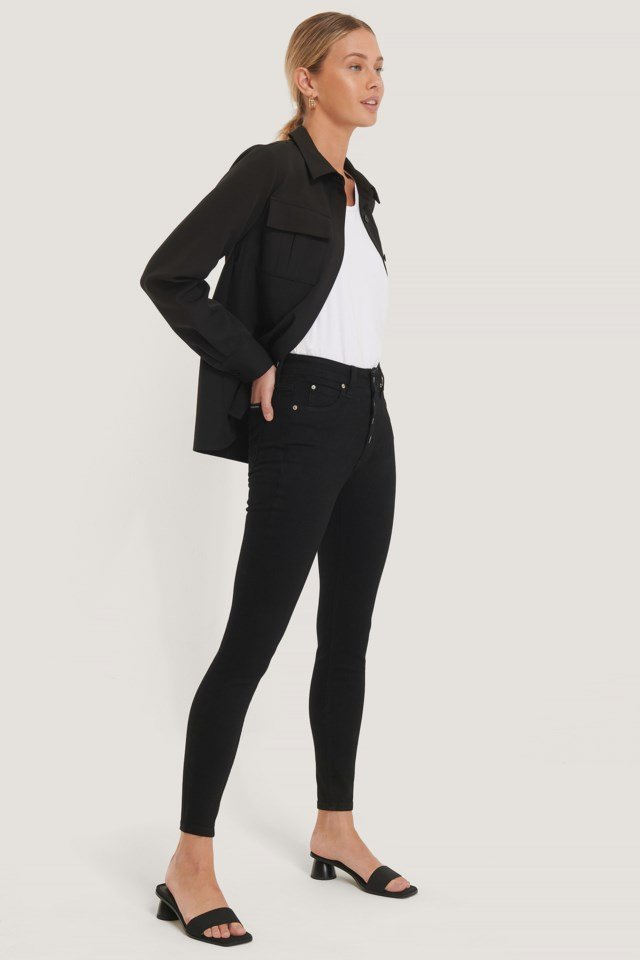 High Rise Super Skinny Ankle
