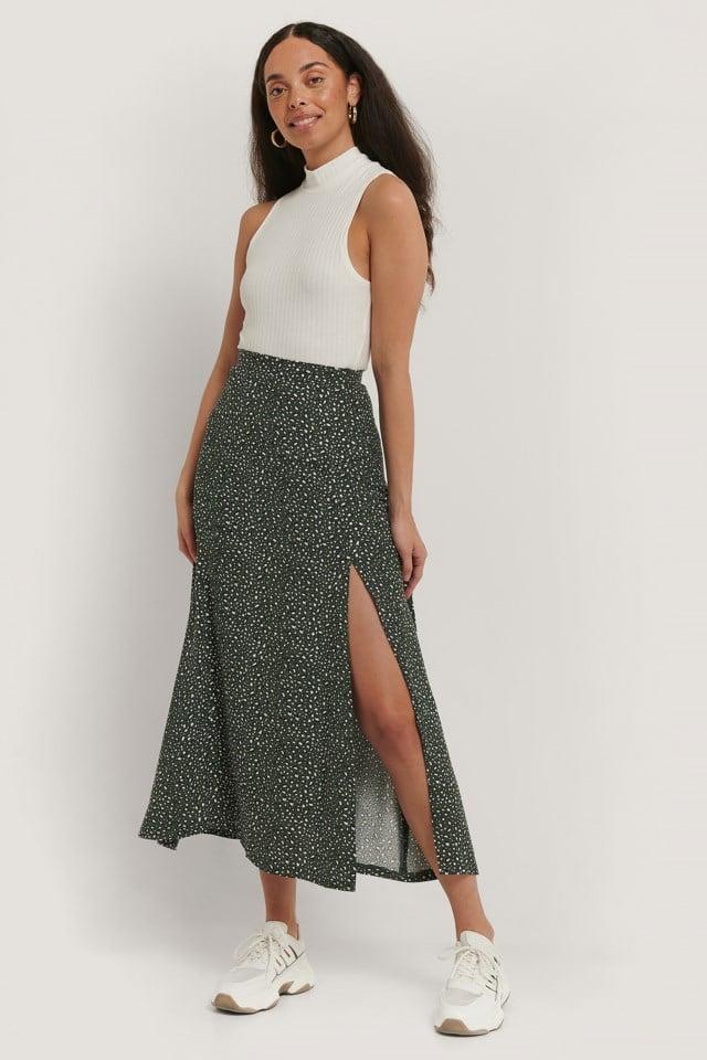 Maxi Slit Skirt