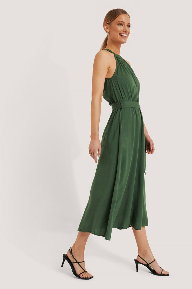 Straped Midi Dress