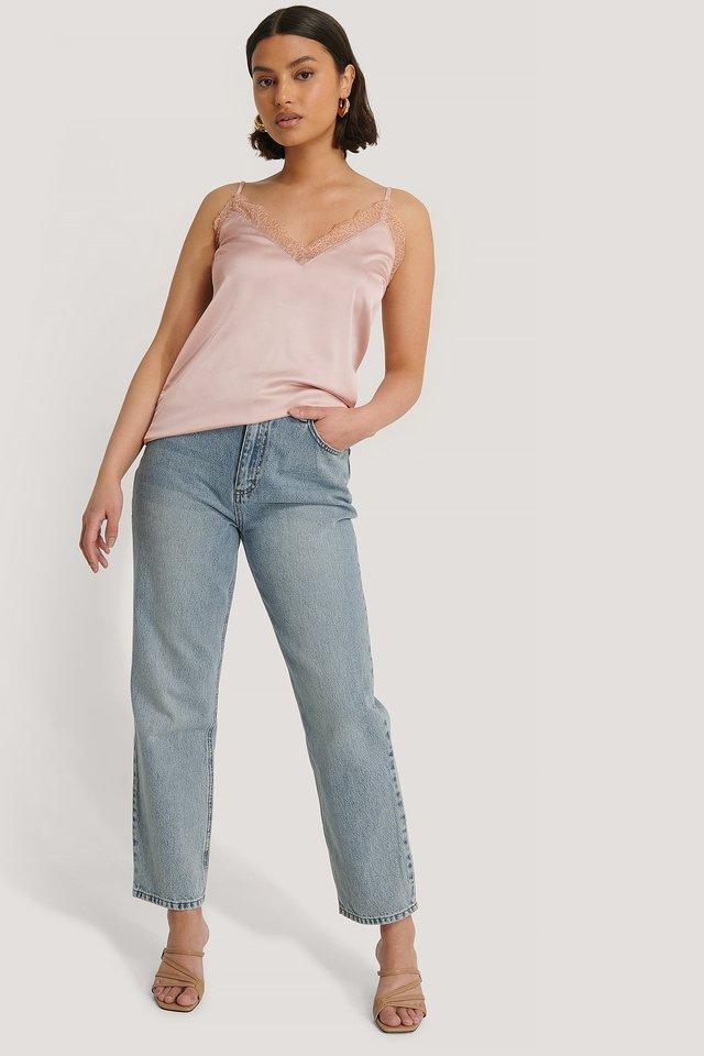 Plain Lace Singlet