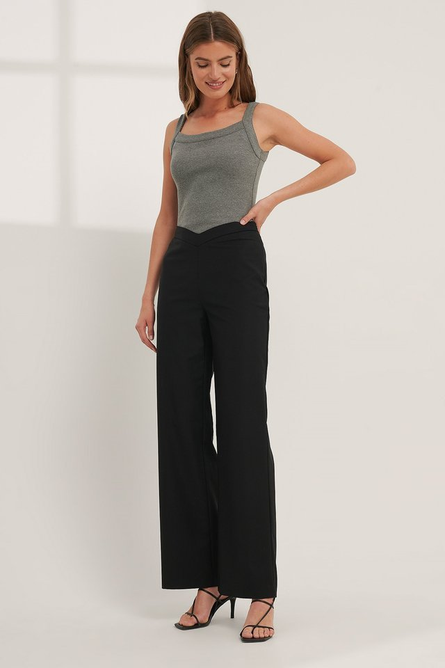 V-shaped Waist Pants