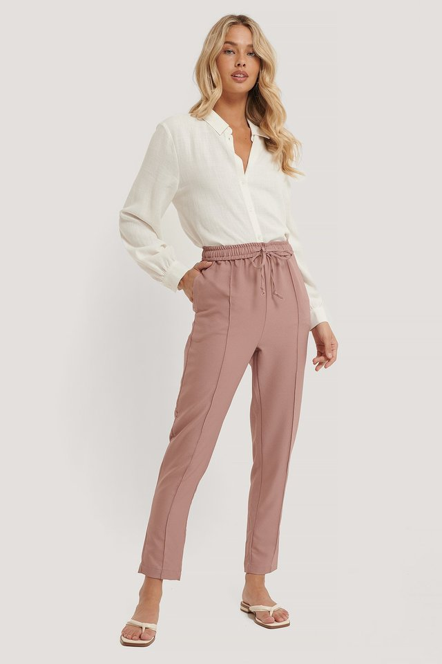 Carmen Tie Trousers Outfit