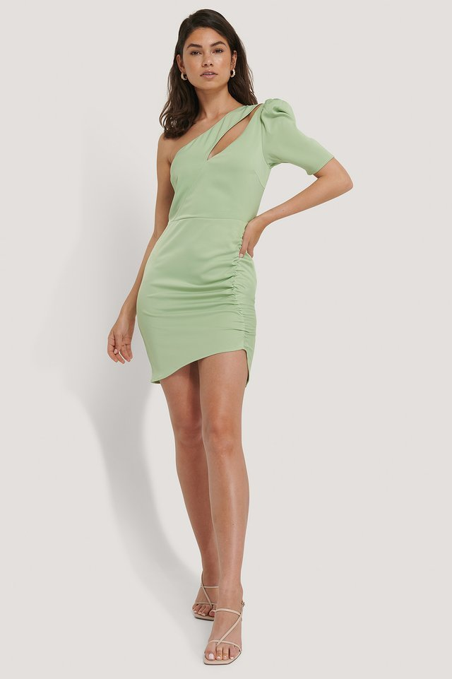 Front Cut Out Dress