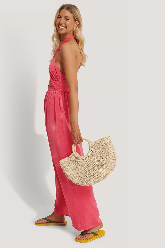 Straw Beach Bag Outfit