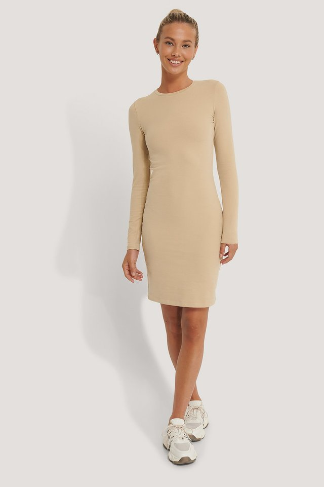 Long Sleeve Soft Dress