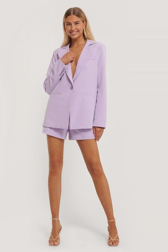 Single Button Blazer Outfit
